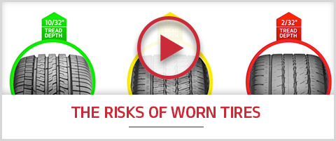 The Risks of Worn Tires.